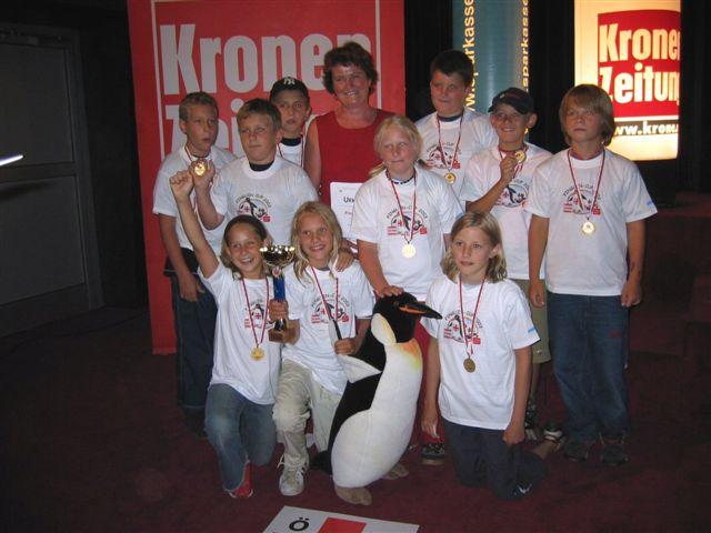 Pinguincup 4. Klasse